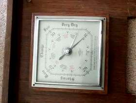 Freecycle Old wooden barometer