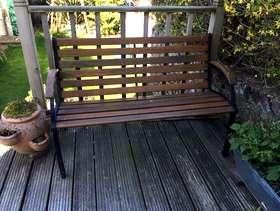 Freecycle Garden bench