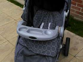 Freecycle Graco pushchair and car seat
