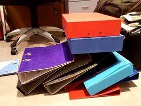 Freecycle Loads of Folders and Box Files
