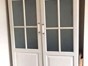 Freecycle Double wardrobe - in need of TLC - please read ...