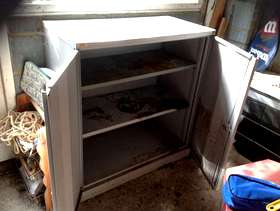 Freecycle Metal cabinet