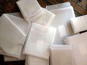 Freecycle Soft foam wrap envelopes