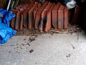 Freecycle Roofing ties not sure how many are left but your ...
