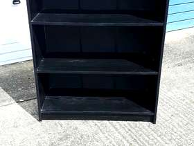 Freecycle Black cupboard and bookcase