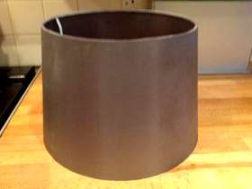 Freecycle Dark silver lampshade