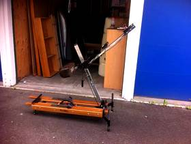 Freecycle Nordic Trac ski machine