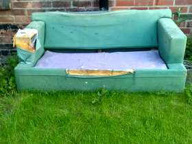 Freecycle Sofa bed