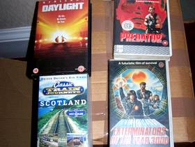 Freecycle VHS movie tapes