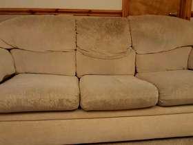 Freecycle 3 seater sofa