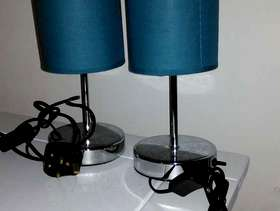 Freecycle Pair lamps