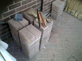 Freecycle Block pavers going spare