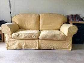 Freecycle Sofa-bed and matching armchair