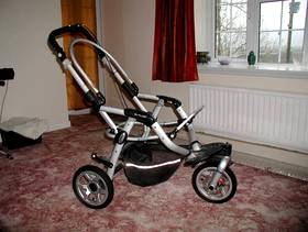 Freecycle Jane baby buggy