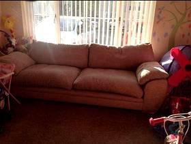Freecycle 4 seat sofa