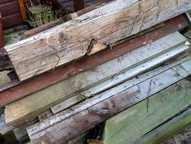 Freecycle Old fence posts