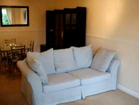 Freecycle Two grey/blue sofas