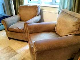 Freecycle Two arm chairs