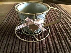 Freecycle Candle Holder