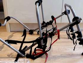 Freecycle Rear mounted cycle carrier for up to 3 bikes.