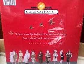 Freecycle 40 years of Coronation Street hardback book