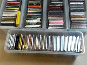 Freecycle Huge cd collection, including storage boxes