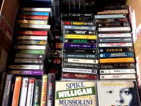 Freecycle Audio and video cassettes - various