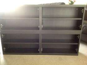 Freecycle 2 black/brown cupboards