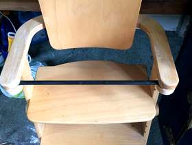 Freecycle Wooden high chair