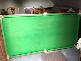 Freecycle Snooker/Pool table