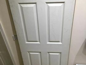 Freecycle White Door