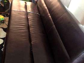 Freecycle Black Sofa cum bed Free to collector.