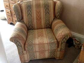 Freecycle Matching armchair and sofa