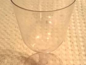 Freecycle Plastic wine glasses