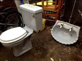 Freecycle Grey bathroom suite