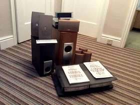 Freecycle Pioneer hifi and Pioneer surround sound system