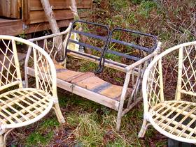 Freecycle Cane chairs