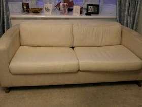Freecycle Three seater sofa bed