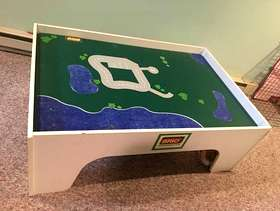 Freecycle Free Brio Train Table