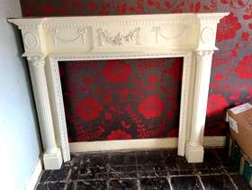 Freecycle Adams wooden fire surround