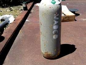 Freecycle CO2 Tank