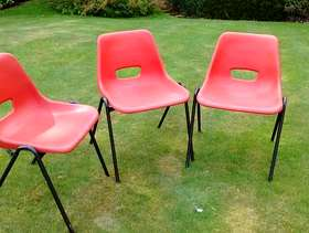 Freecycle Stacking chairs