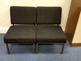 Freecycle 3 black office chairs