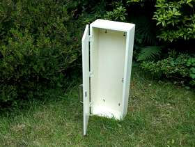 Freecycle Small white wall cupboard