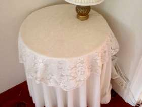 Freecycle Decorative table