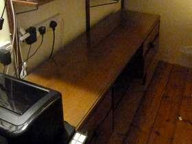 Freecycle Teak Dressing Table/Desk