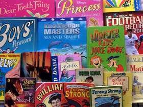 Freecycle Children's books