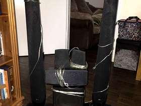 Freecycle 5 Surround sound speakers