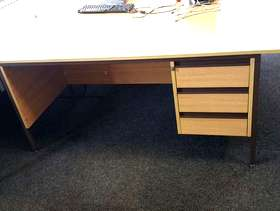 Freecycle Used office desks & storage units - collection only 8-15th ...