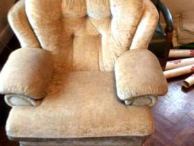 Freecycle Three seater sofa and one armchair